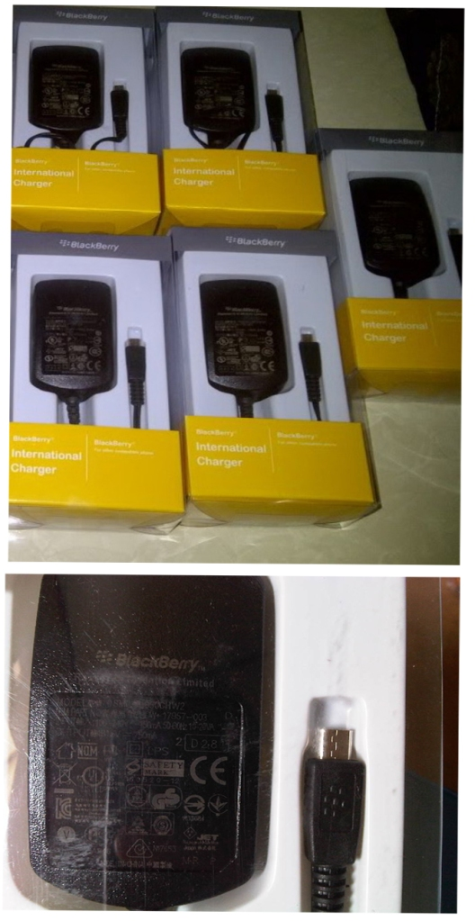 Charger Blackberry Original PSM04R