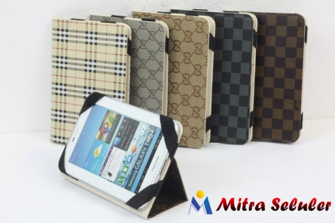 LV leather chase samsung 7 inci mitra seluler