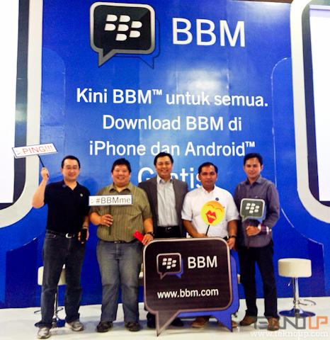 bbm di iphone dan android